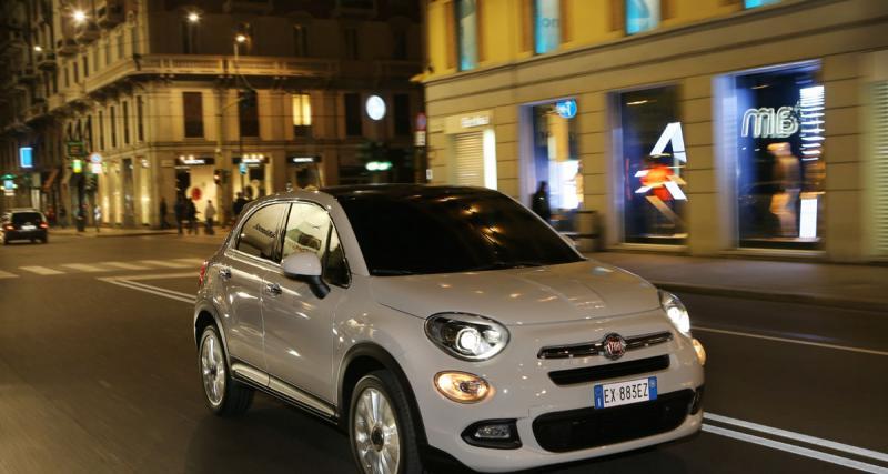 Fiat 500X: C'est dans la boîte!