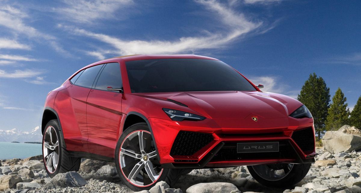 Lamborghini Urus: le futur SUV de la marque produit en Italie ?