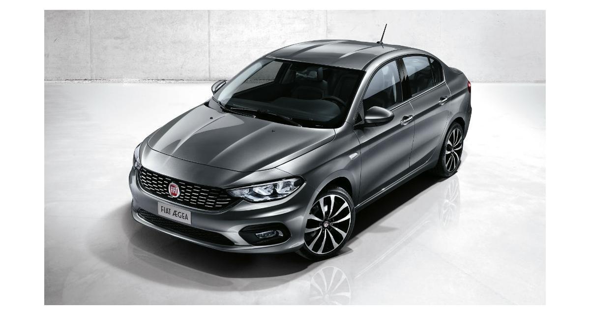Fiat Aegea : la nouvelle berline de la marque italienne