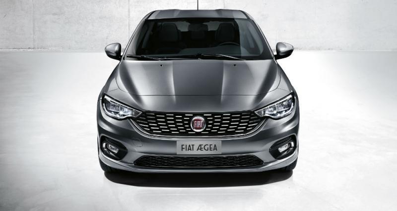 Fiat Aegea: Toutes les photos de la nouvelle berline tricorps de Fiat
