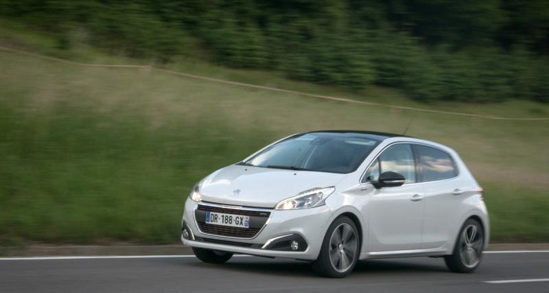 Essai Peugeot 208 restylée : premières impressions et photos