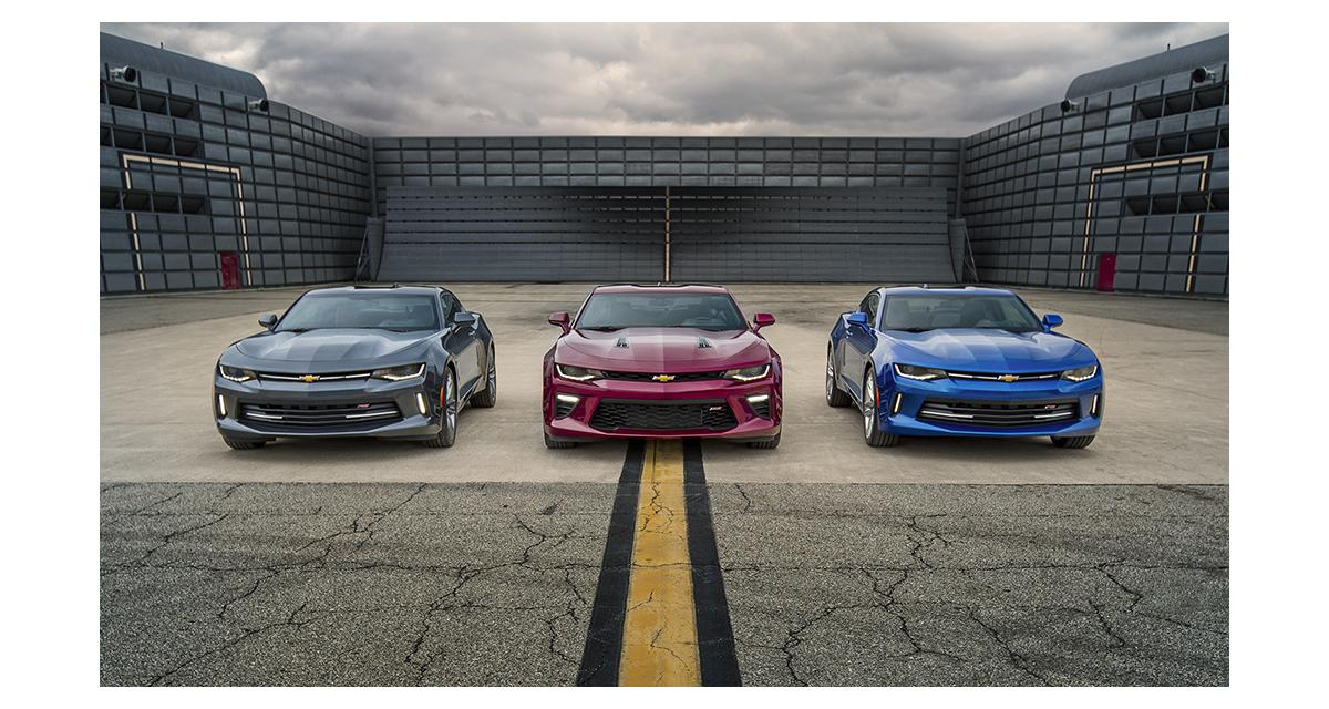 Nouvelle Chevrolet Camaro : « Light(er) is Right »
