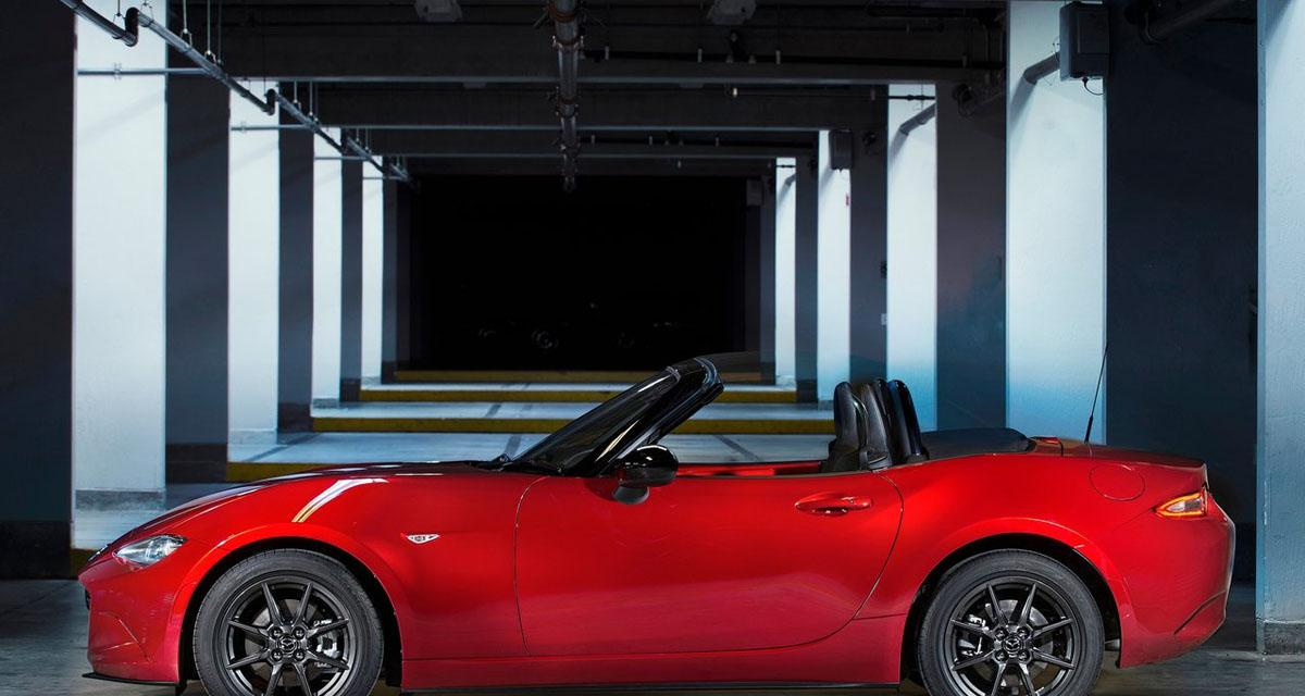 nouvelle mazda mx 5 d couvrez les prix de la nouvelle mx 5. Black Bedroom Furniture Sets. Home Design Ideas