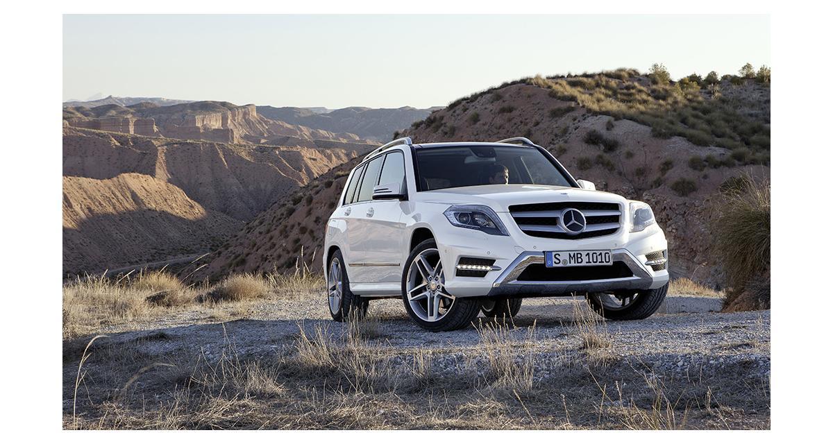 Mercedes dévoilera son GLC le 17 juin