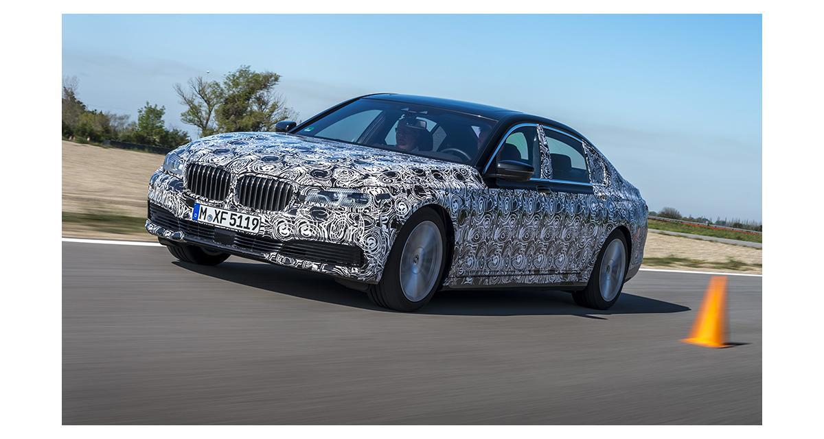 Nouvelle BMW Série 7 : le plein de nouvelles technologies