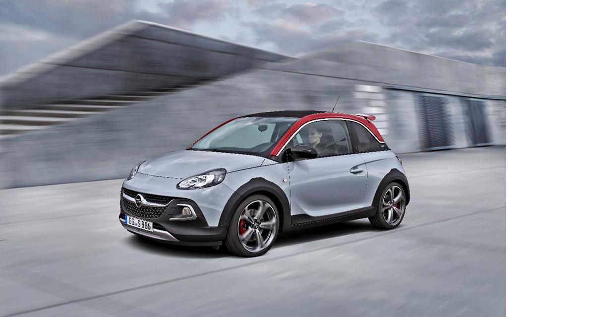 Opel Adam Rocks S : baroudeuse et sportive