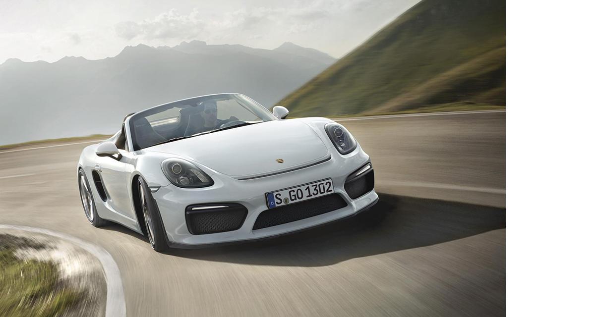 Porsche Boxster Spyder : GT4 à l'air libre