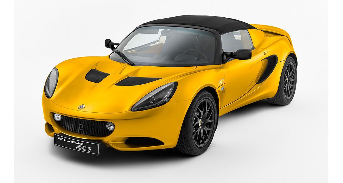 Lotus Elise : une série spéciale pour le 20e anniversaire