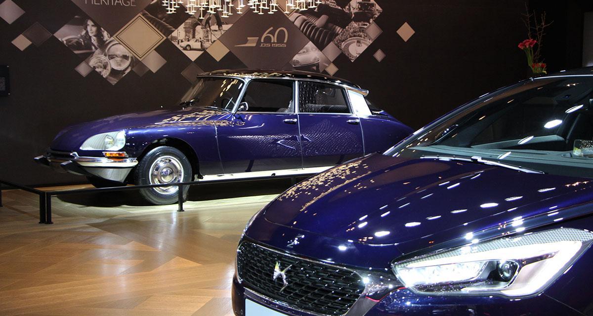 DS 5 et Citroën DS au salon de Genève : le poids de l'héritage