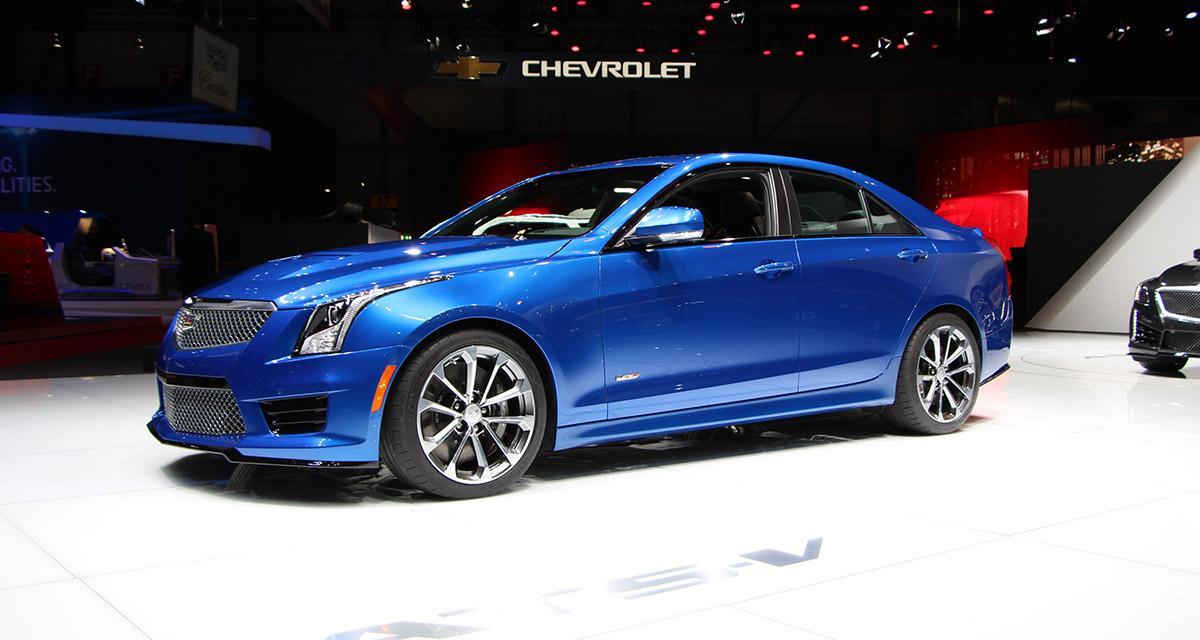 Salon de Genève 2015 : Cadillac ATS-V