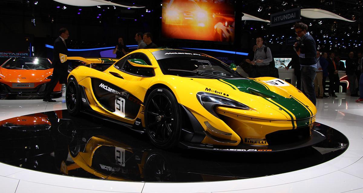 Salon de Genève 2015 : McLaren P1 GTR