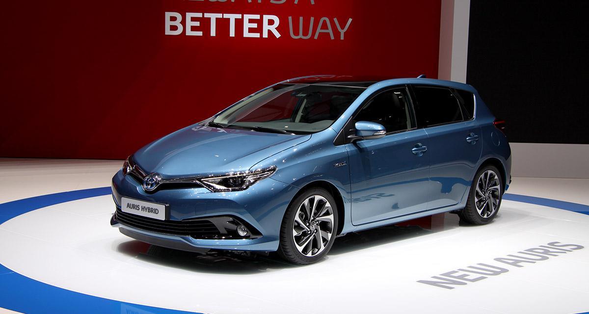 Salon de Genève 2015 : Toyota Auris restylée