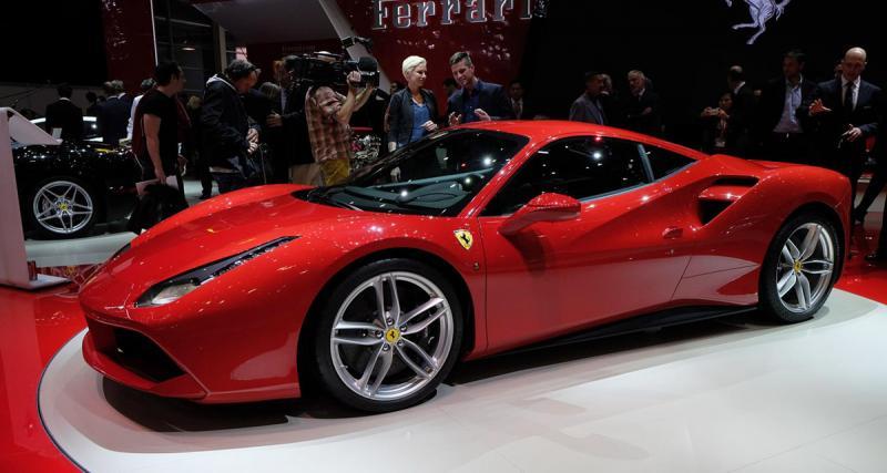 Salon de Genève 2015 : Ferrari 488 GTB