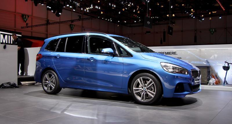 Salon de Genève 2015 : BMW Série 2 Gran Tourer