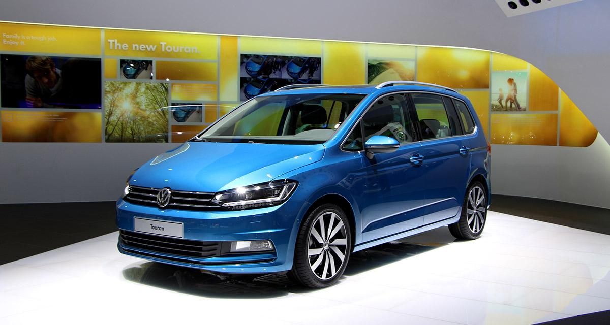 Volkswagen touran 2015 les infos et les photos de gen ve for Geneve 2015 salon