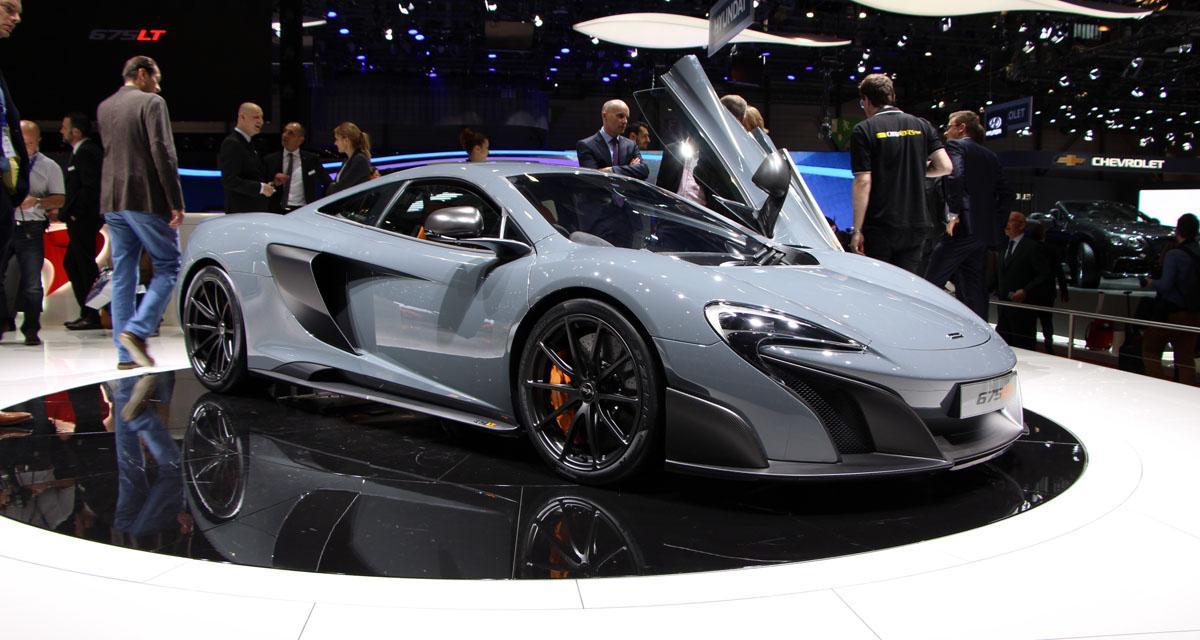 Salon de Genève 2015 : McLaren 675LT