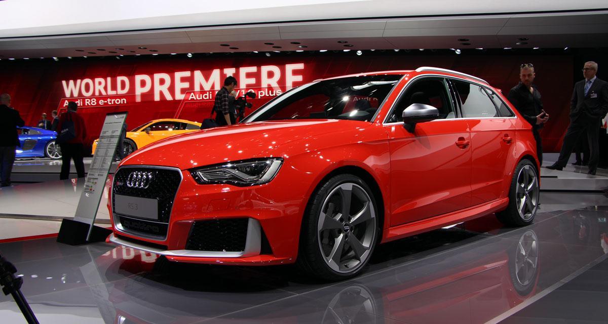 Genève 2015 : Audi RS3 Sportback