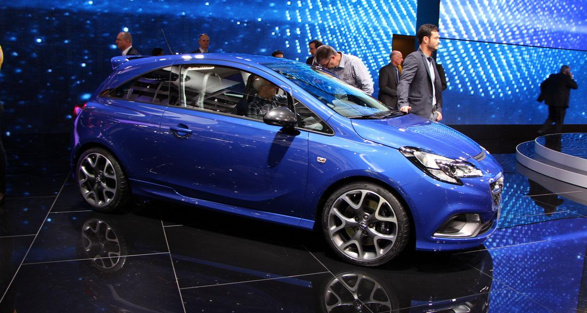 En direct du salon de Genève : Opel Corsa OPC