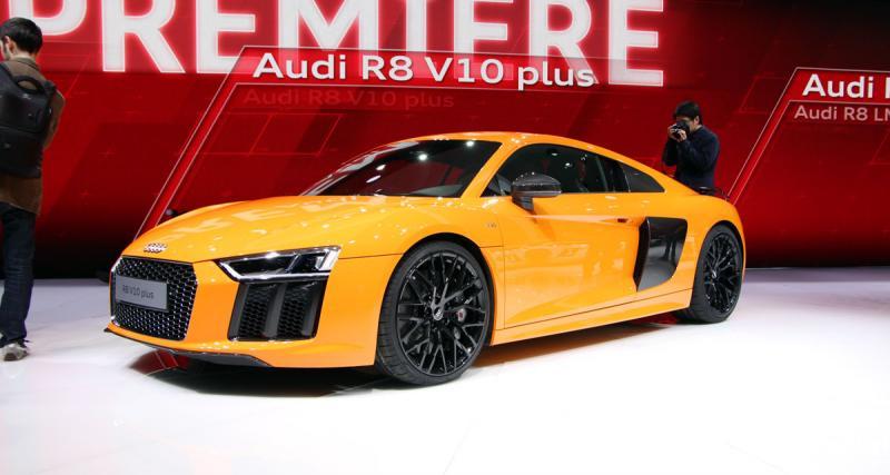Salon de Genève 2015 en direct : Audi R8