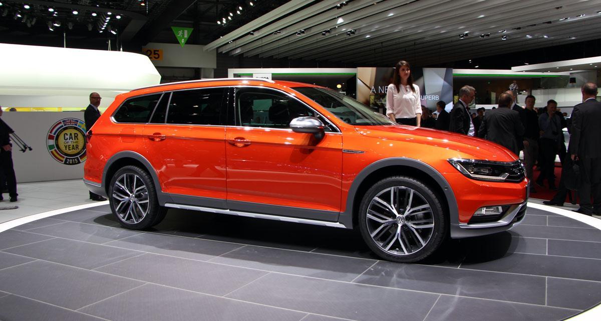Salon de Genève (en direct) : Volkswagen Passat Alltrack