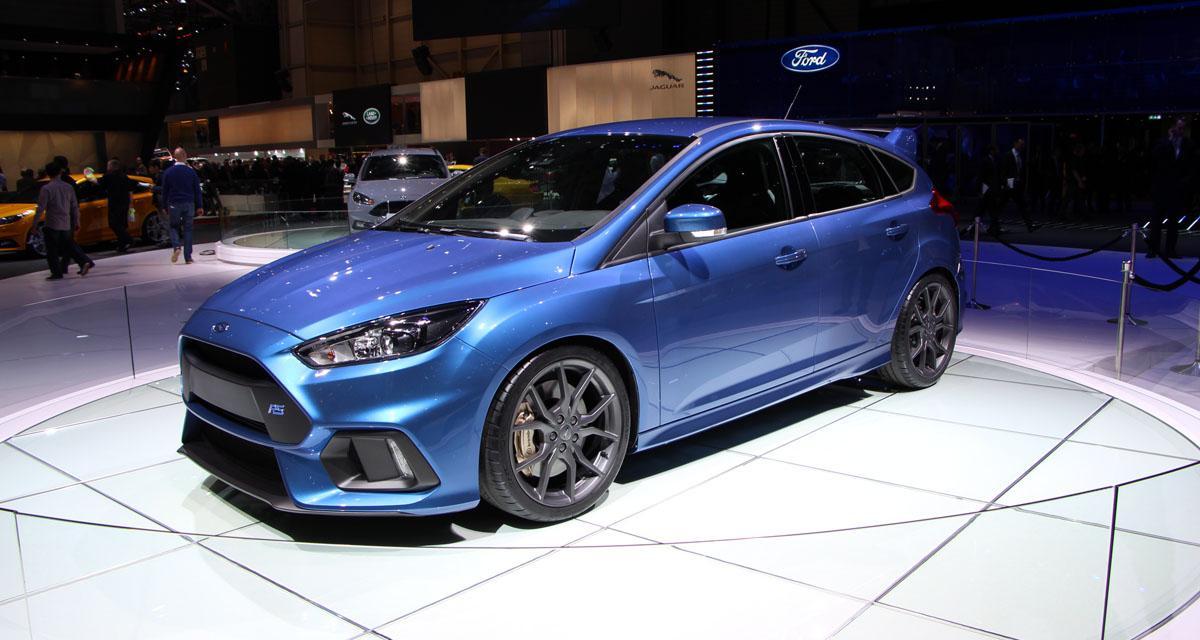 En direct du salon de Genève : Ford Focus RS