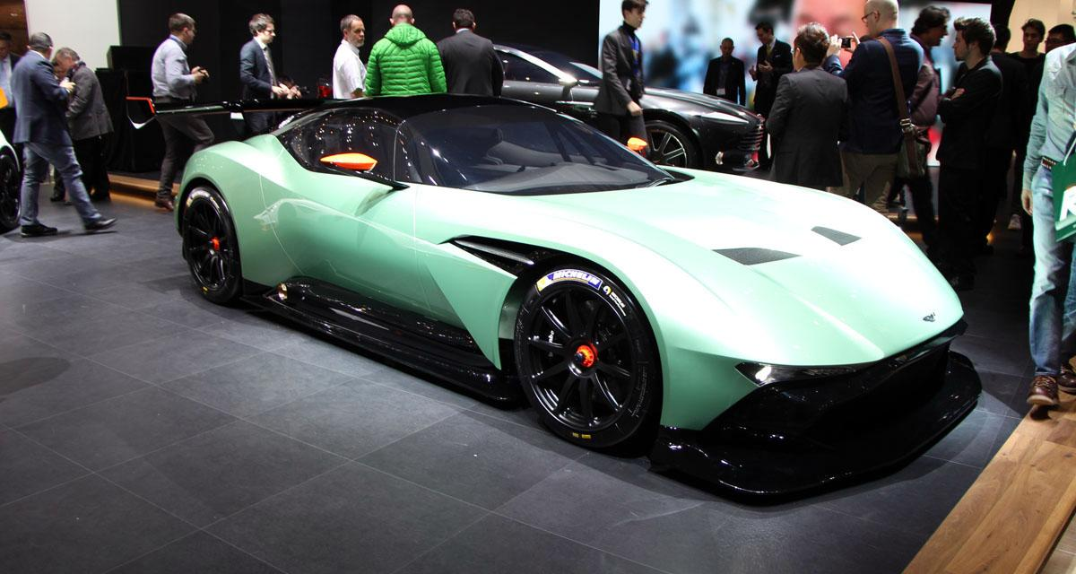 En direct du salon de Genève : Aston Martin Vulcan