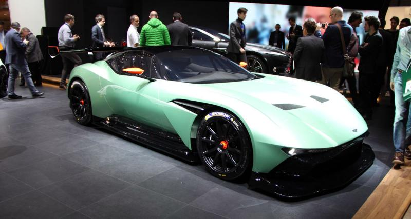 En direct du salon de Genève : Aston Martin Vulcan