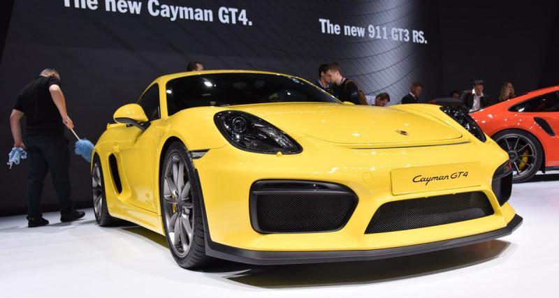 Salon de Genève en direct : Porsche Cayman GT4