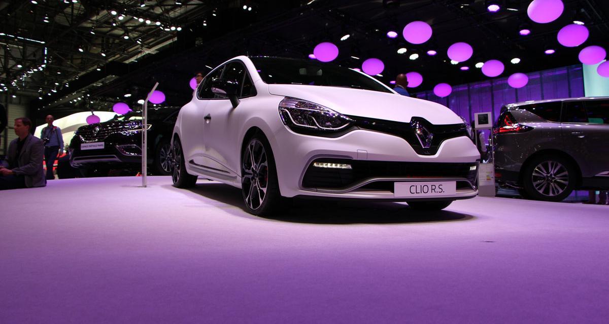 Salon de Genève en direct : Renault Clio RS Trophy