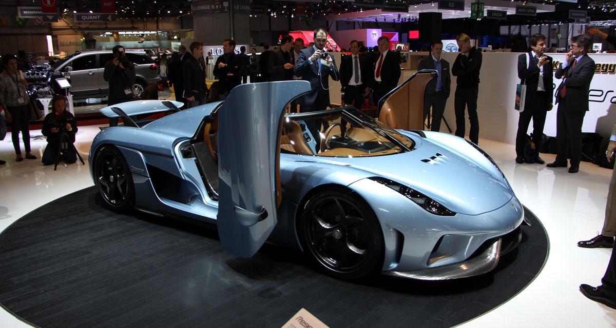 Salon de Genève (en direct) : Koenigsegg Regera