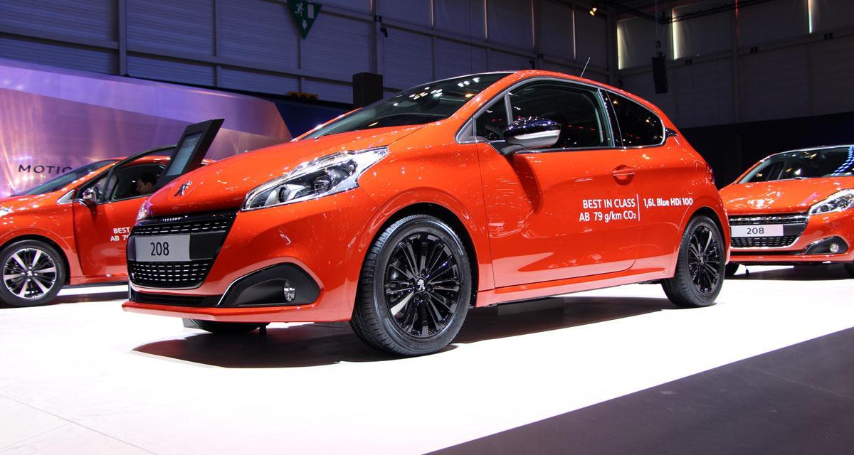 Salon de Genève en direct : Peugeot 208 restylée