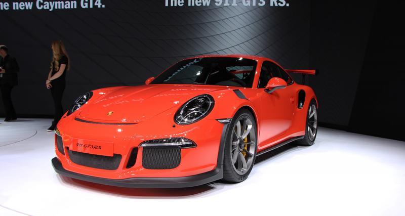 Salon de Genève en direct : Porsche 911 GT3 RS