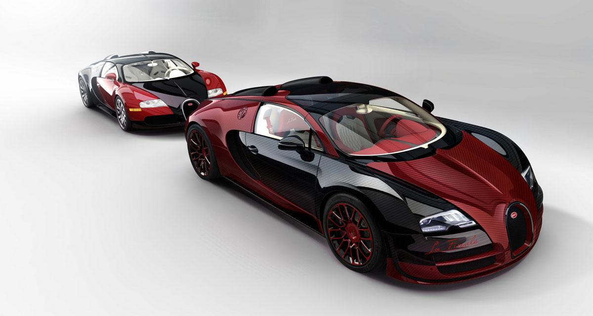 Salon de Genève en direct : Bugatti Veyron La Finale
