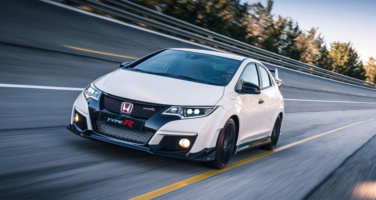 Honda Civic Type R (salon de Genève 2015 en direct)