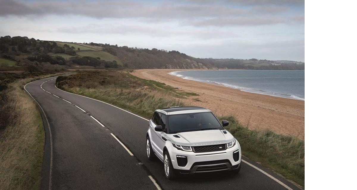 Le Range Rover Evoque restylé garde la ligne