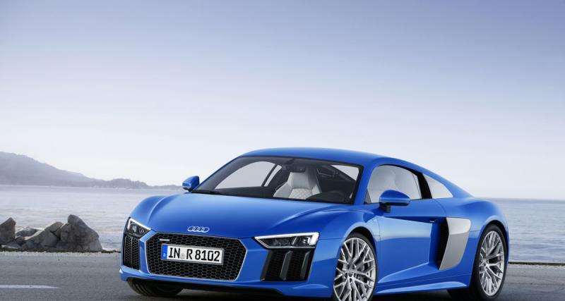 Audi R8, deuxième round