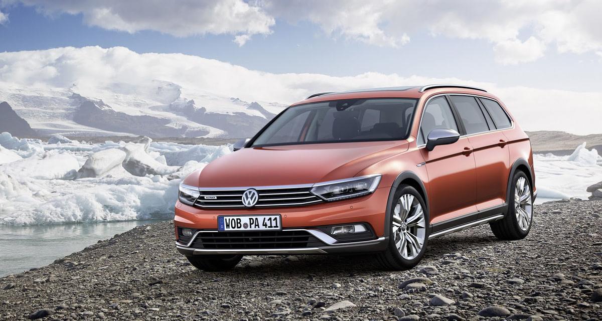 Volkswagen Passat Alltrack : le break tout chemin à Genève