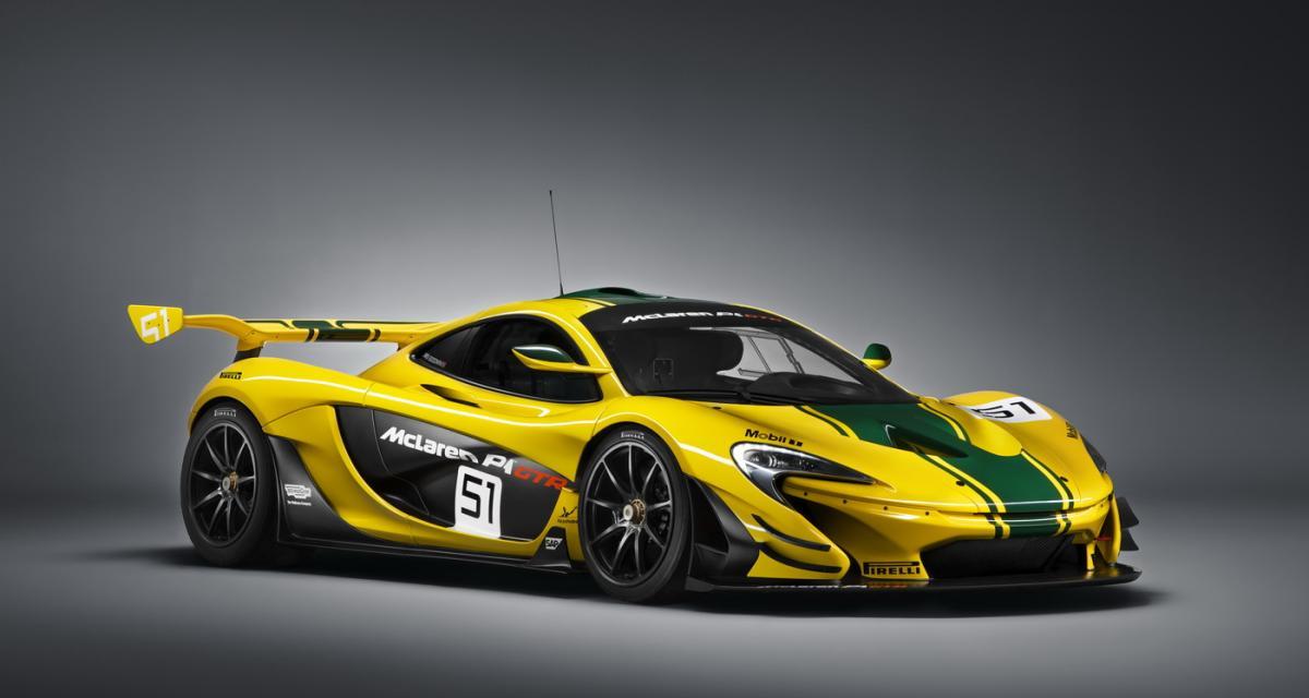 McLaren P1 GTR : 1 000 ch pour la piste