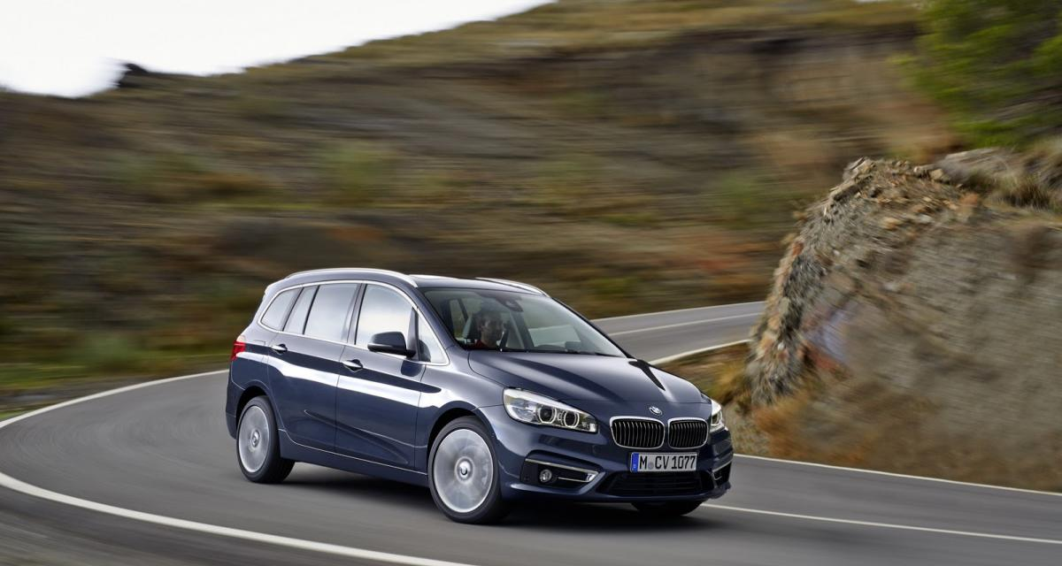 bmw s rie 2 gran tourer un monospace 7 places munich. Black Bedroom Furniture Sets. Home Design Ideas