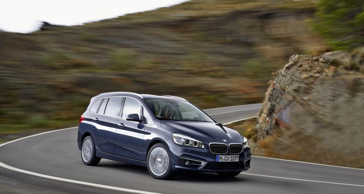 BMW Série 2 Gran Tourer : un monospace sept places à Munich