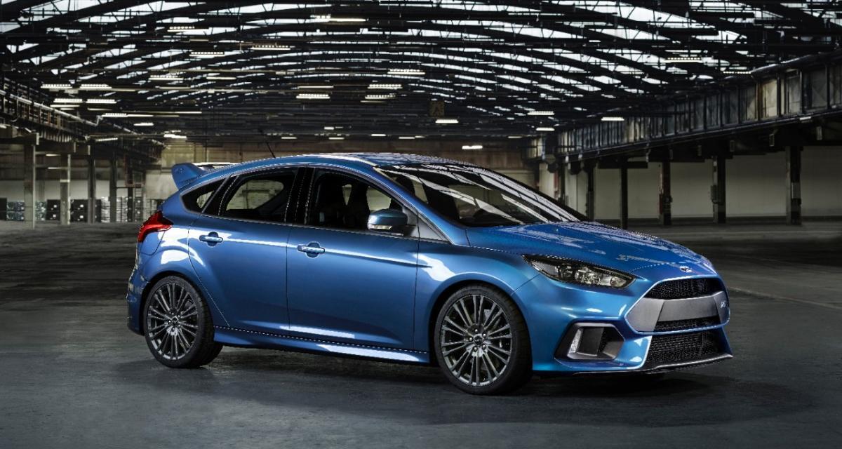 Nouvelle Ford Focus RS : toutes griffes dehors