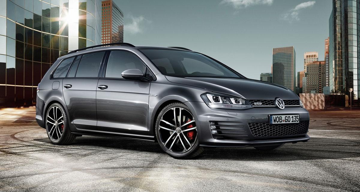 Volkswagen Golf GTD SW : du coffre à tous les étages