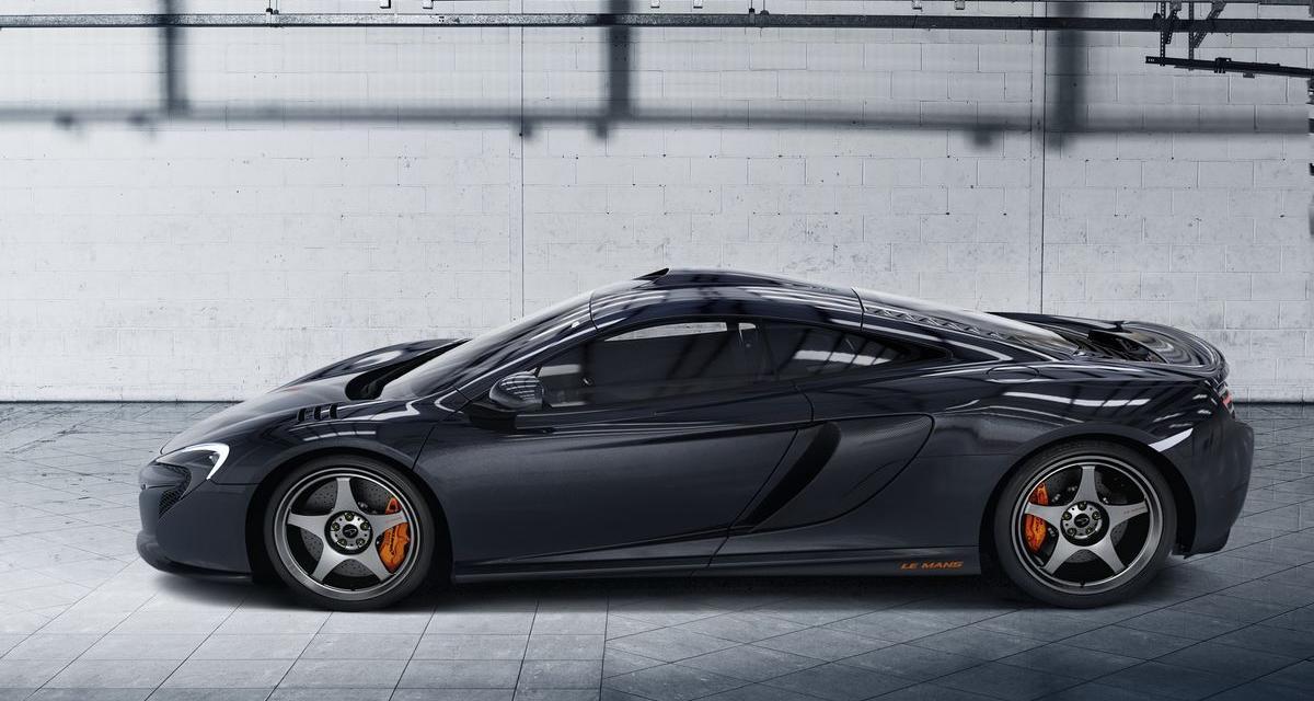 McLaren 650S Le Mans : hommage à la F1 GTR