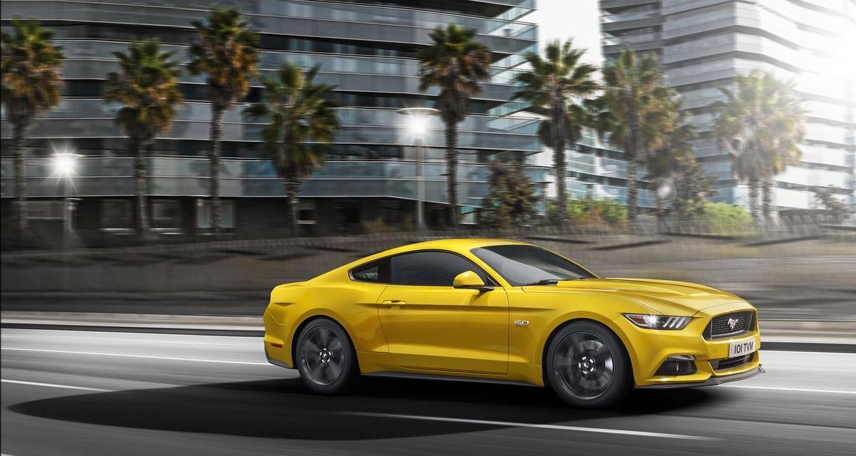 Ford Mustang : les tarifs