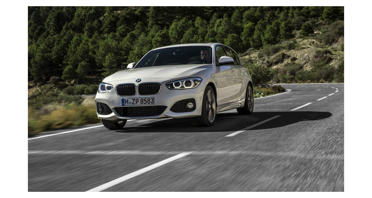 BMW Série 1 : restylage et moteurs 3 cylindres pour 2015