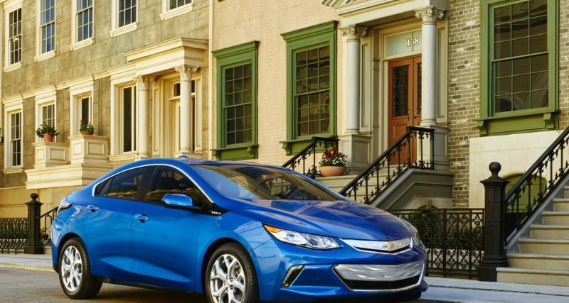 Nouvelle Chevrolet Volt : l'hybride fait peau neuve à Detroit