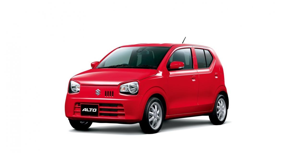 Suzuki Alto : une nouvelle kei car pour le Japon