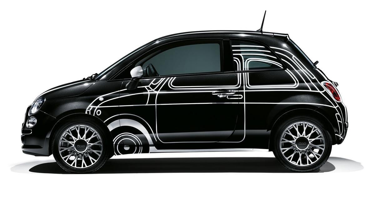 La Fiat 500 en vente sur le site ShowroomPrive.com