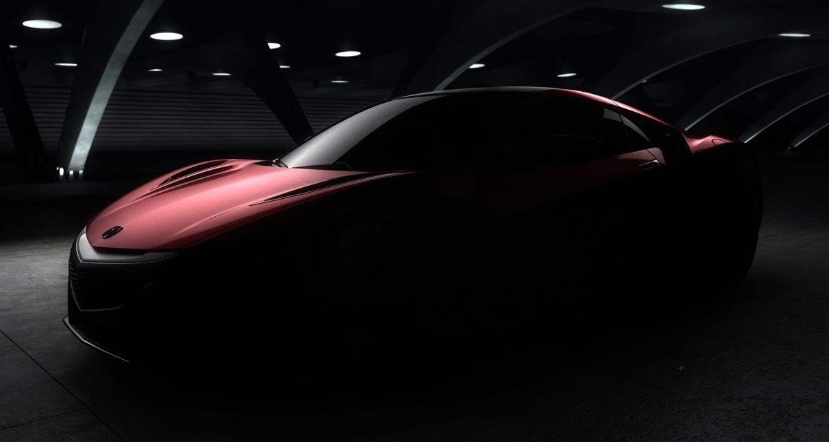 Honda NSX : le modèle de série à Detroit