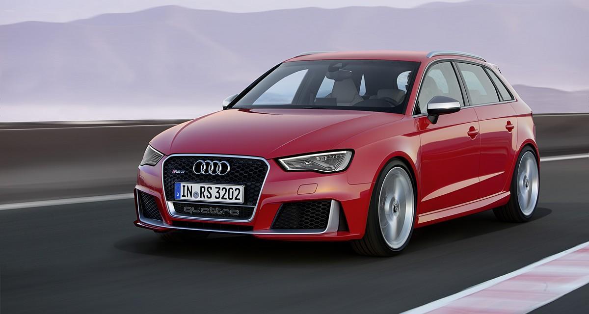 Audi RS3 Sportback : toujours cinq pattes pour la compacte ultime